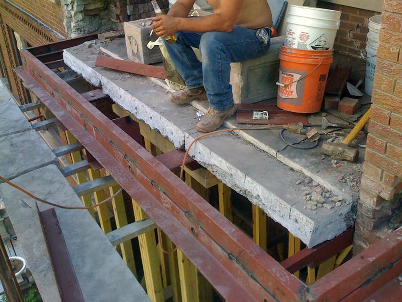 Как сделать балкон из бетона 231